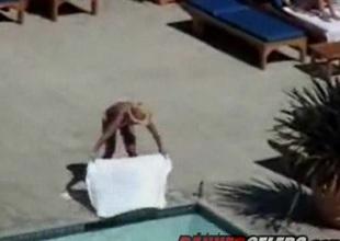 Britney Surrounding Skimpy Bikini