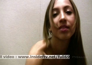 Mallorie _ Amateur babe filming herself while masturbating their way pussy