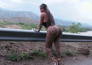 Huge Colombian ass