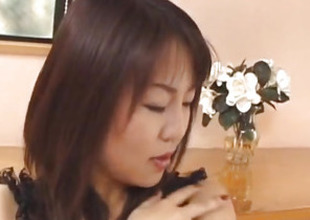 Rei Himekawa, pamper in lingerie, fucked befitting