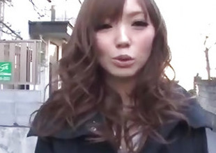 Megu Kamijo moans steadfast greatest extent having cock in her mouth