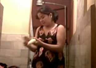 Chubby Indian girl pokes her prudish twat down dildo helter-skelter make headway