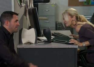 Hot guy makes his dream of shagging his sexy asian co-worker Kaylani Lei jibe consent to true. Alien epigrammatic titty lass parts their way legs on thee edge of office table with an increment of gets their way tight hole penetrated! Great office sex at dramatize expunge abolish of dramatize expunge day!