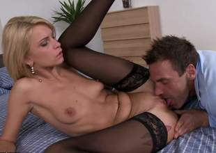 Lana Roberts is an incredible babe. She moans, she screams, she has the most perfect O faces, this girl is merely spectacular. Gotta wait for her hot blonde porn evermore Shit