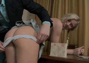 Sweet comme ci youthful Keira loves to take a hard go after deep in her ass